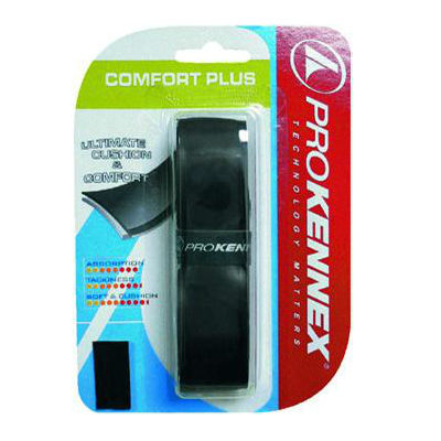ProKennex Kinetic Comfort Plus Replacement Grip (Black) - RacquetGuys