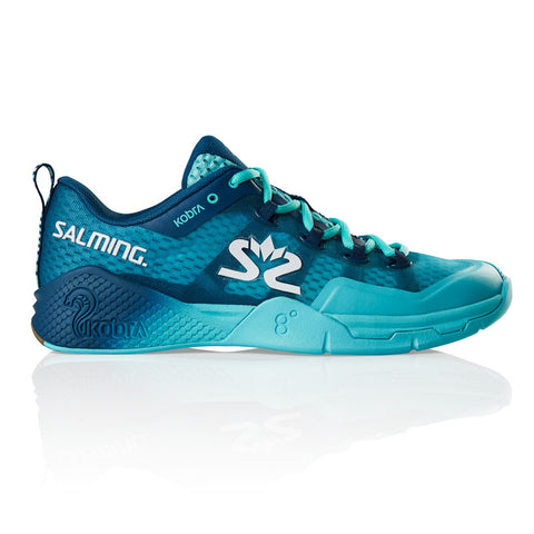 Salming Kobra 2 Men's Indoor Court Shoe (Dark Blue/Blue) - RacquetGuys.ca