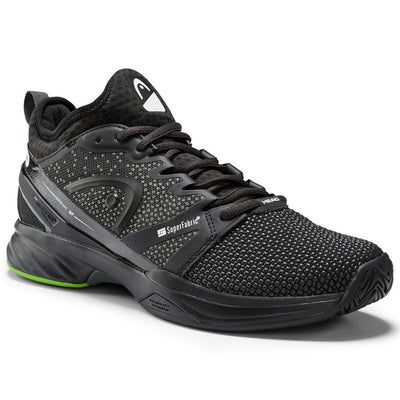 HEAD Sprint SF Men's Tennis Shoe (Black/Green)