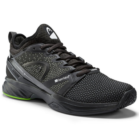 HEAD Sprint SF Men's Tennis Shoe (Black/Green) - RacquetGuys