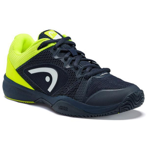 Head Revolt Pro 2.5 Junior Tennis Shoe (Blue/Yellow) - RacquetGuys.ca