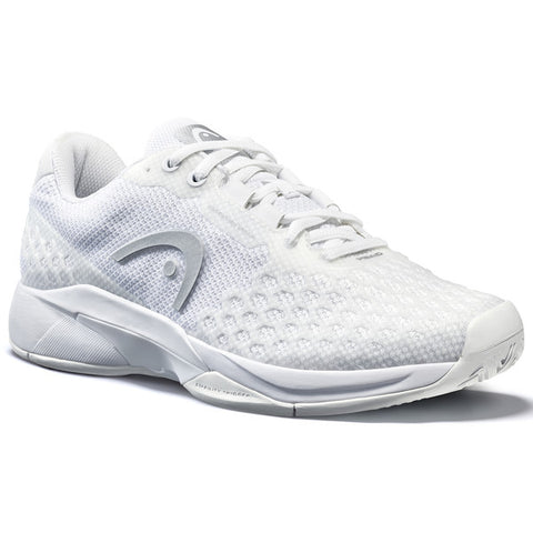Head Revolt Pro 3.0 Women's Tennis Shoe (White/Silver) - RacquetGuys