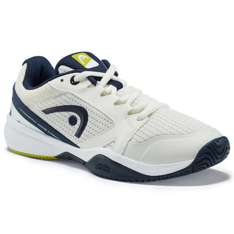 Head Sprint 2.5 Junior Tennis Shoe (White/Blue) - RacquetGuys.ca