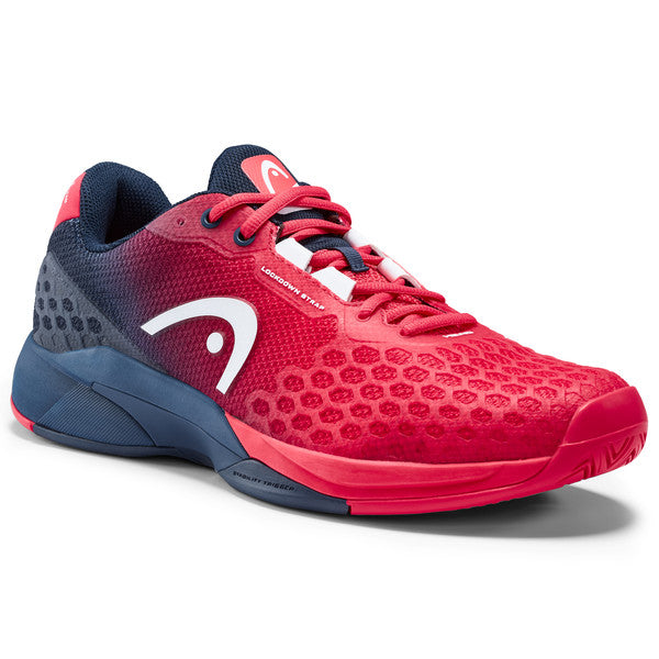 HEAD Revolt Pro 3.0 Mens Tennis Shoe (Red/Blue) - RacquetGuys
