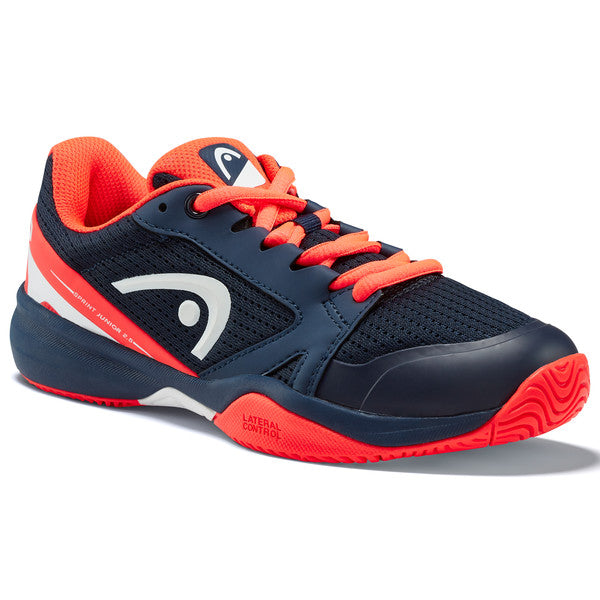 Head Sprint 2.5 Junior Tennis Shoe (Blue/Red) - RacquetGuys