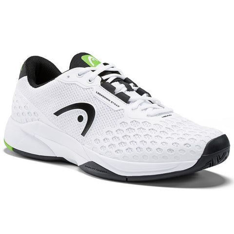 Head Revolt Pro 3.0 Men's Tennis Shoe (White/Black) - RacquetGuys