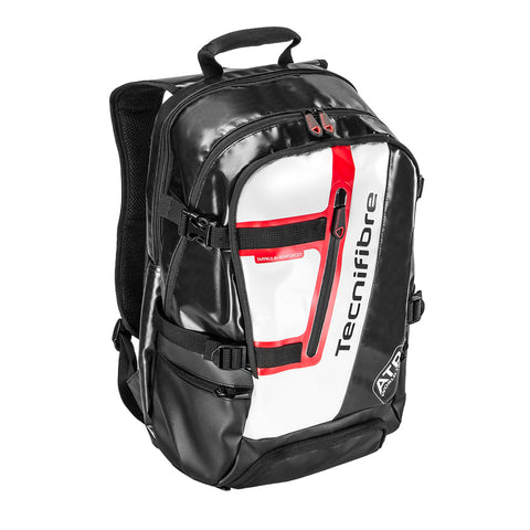 Tecnifibre ATP Endurance Backpack Racquet Bag (Black/White) - RacquetGuys