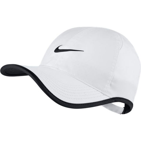 Nike AeroBill Featherlight Tennis Cap (White)