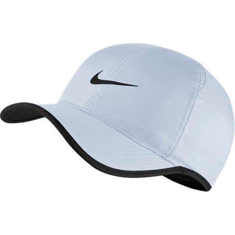 Nike AeroBill Featherlight Tennis Cap (Blue) - RacquetGuys
