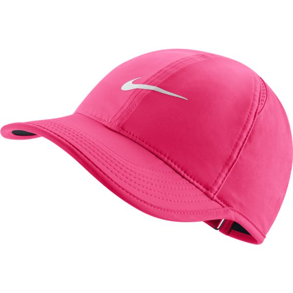info for 84ea3 b9cc3 Nike Women s AeroBill Featherlight Tennis Cap (Pink)