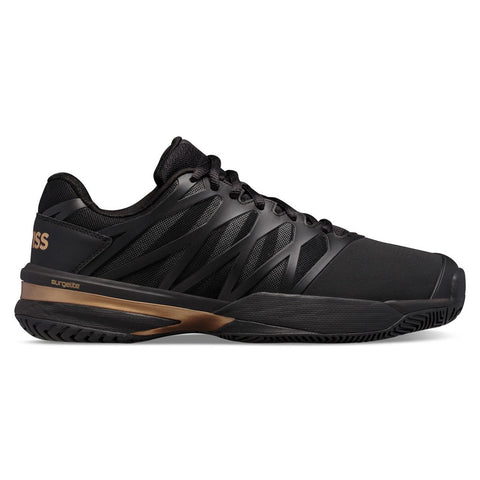 K-Swiss Ultrashot 2 Men's Tennis Shoe (Black/Gold) - RacquetGuys