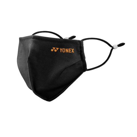 Yonex AC480 Reusable Cooling Face Mask (Black) - RacquetGuys.ca