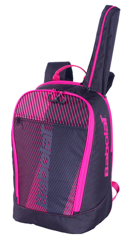 Babolat Classic Club Backpack Racquet Bag (Black/Pink) - RacquetGuys