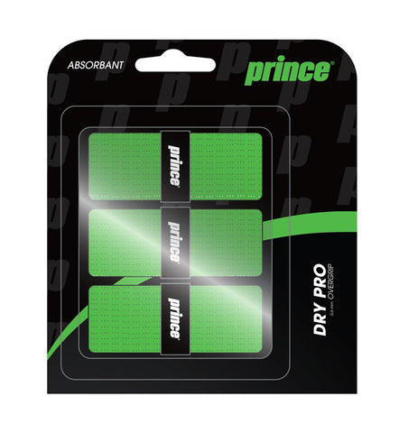 Prince DryPro Overgrips 3 Pack (Green)