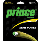 Prince Rebel Power 18 Squash String (Gold) - RacquetGuys