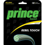 Prince Rebel Touch 18 Squash String (Clear) - RacquetGuys