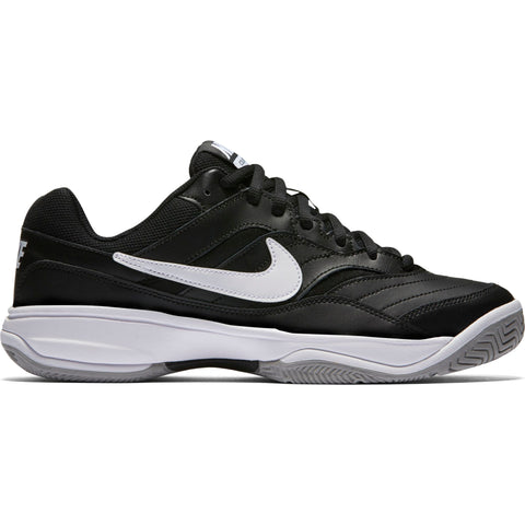 Nike Court Lite Men's Tennis Shoe (Black/White)