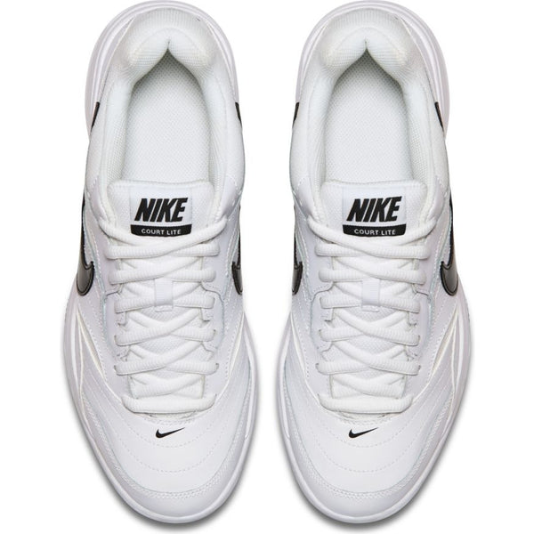 Nike Court Lite Men's Tennis Shoe (White/Black/Grey)