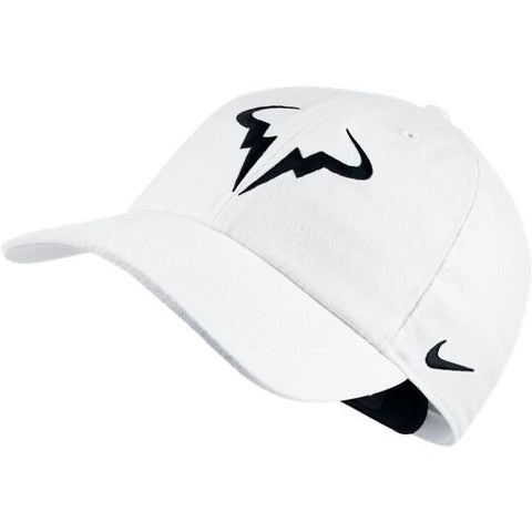 Nike AeroBill H86 Rafa Tennis Hat (White/Black)