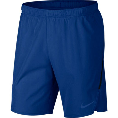 Nike Men's Flex Ace Shorts (Blue) - RacquetGuys