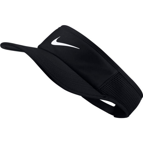 Nike Aerobill Featherlight Tennis Visor (Black)