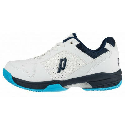 Prince Advantage Lite Mens Tennis Shoe (White/Navy) - RacquetGuys