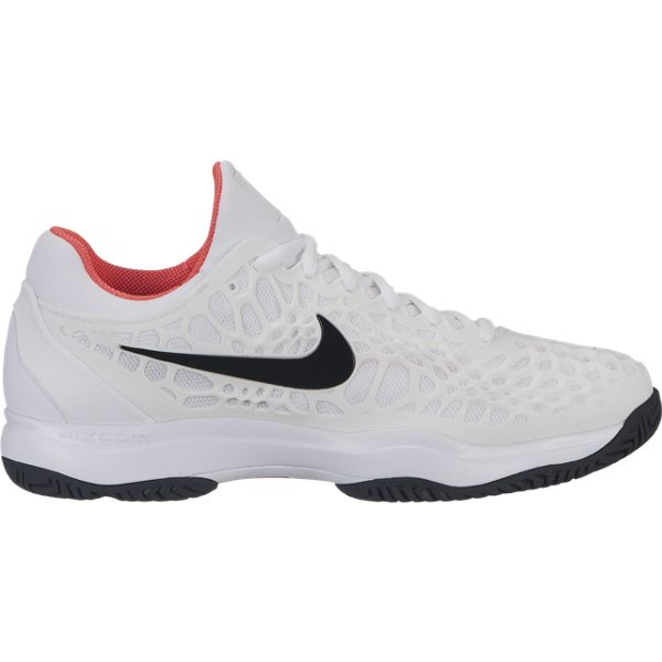 19a336d67bedb Nike Zoom Cage 3 Men s Tennis Shoe (White Black)