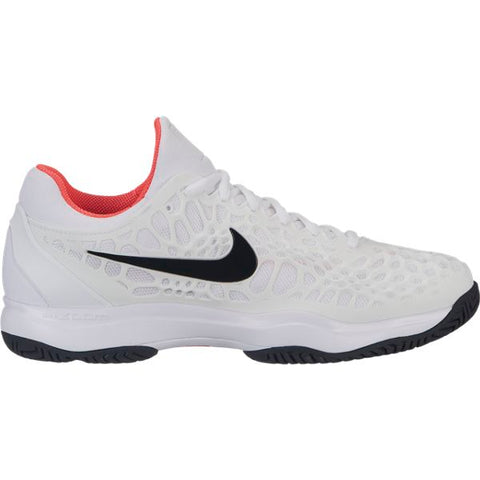 Nike Zoom Cage 3 Men's Tennis Shoe (White/Black) - RacquetGuys