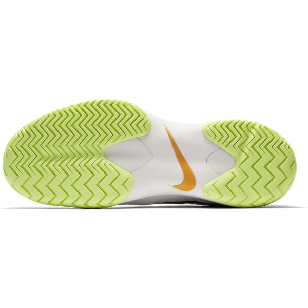 Nike Zoom Cage 3 Women's Tennis Shoe (Guava/Spruce/Orange) - RacquetGuys