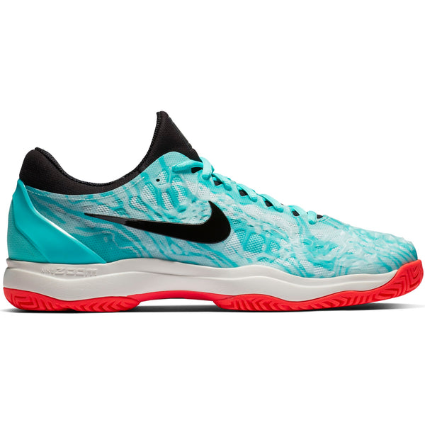 Nike Zoom Cage 3 Men's Tennis Shoe (Green/Black/Teal)