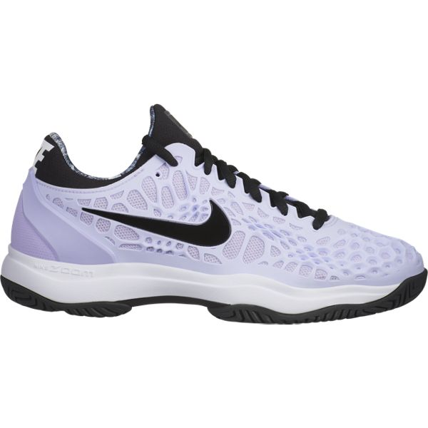 Nike Zoom Cage 3 Women's Tennis Shoe (Purple/Black) - RacquetGuys