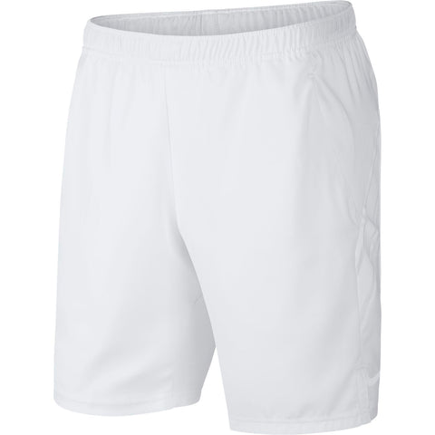 Nike Men's Dri-FIT 9 Inch Shorts (White) - RacquetGuys