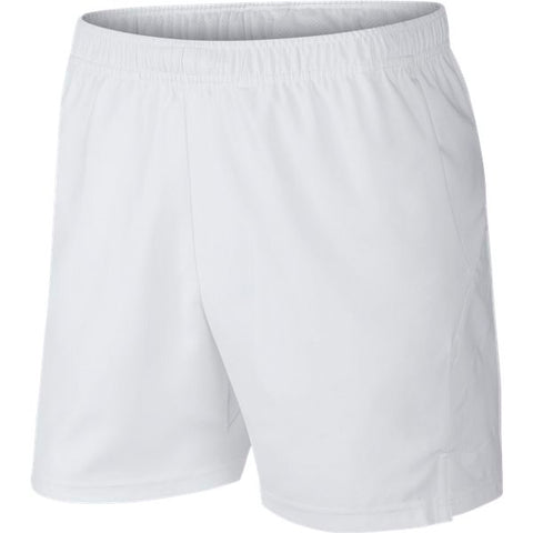 Nike Men's Dry 7 Inch Shorts (White) - RacquetGuys