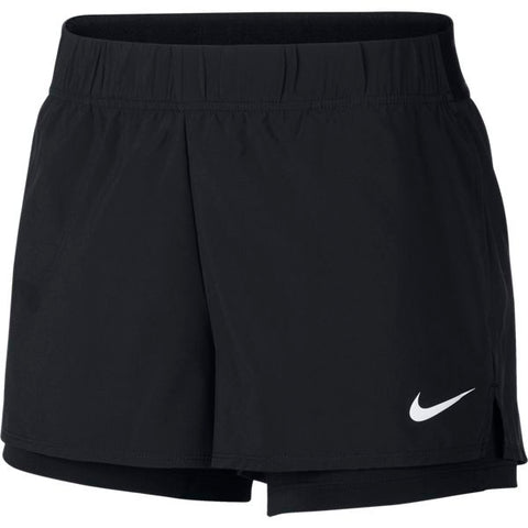 Nike Women's Flex Shorts (Black) - RacquetGuys