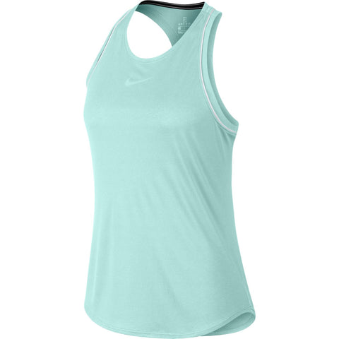 Nike Women's Dri-FIT Tank Top (Teal) - RacquetGuys