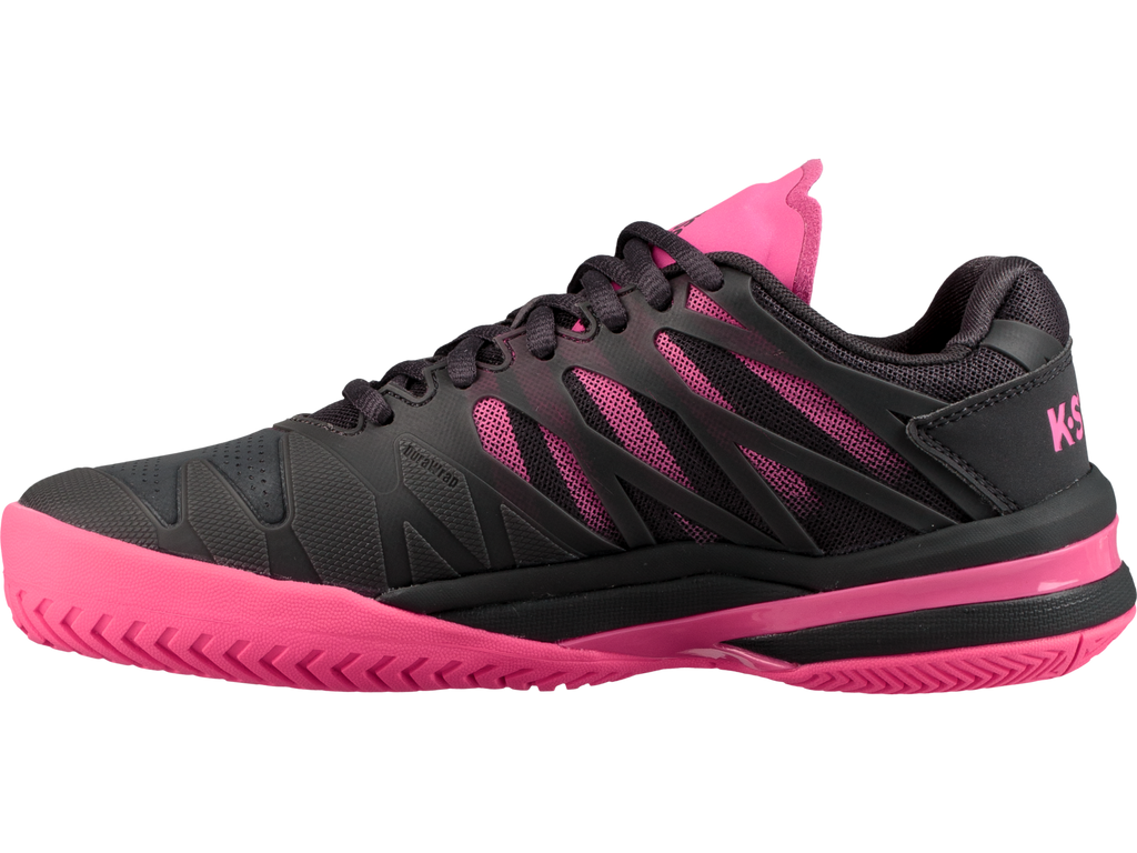 newest collection 132da 4f3f1 K-Swiss Ultrashot Womens Tennis Shoe (Magnet/Neon Pink)
