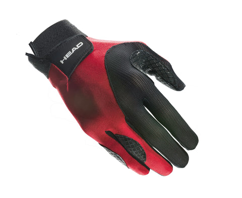 Head Web Right Hand Glove (Red/Black) - RacquetGuys
