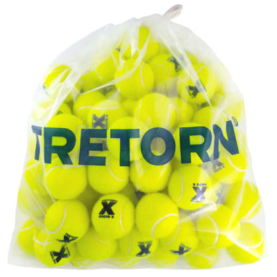 Tretorn Micro-X Pressureless Tennis Balls - Bag/72 (Yellow)