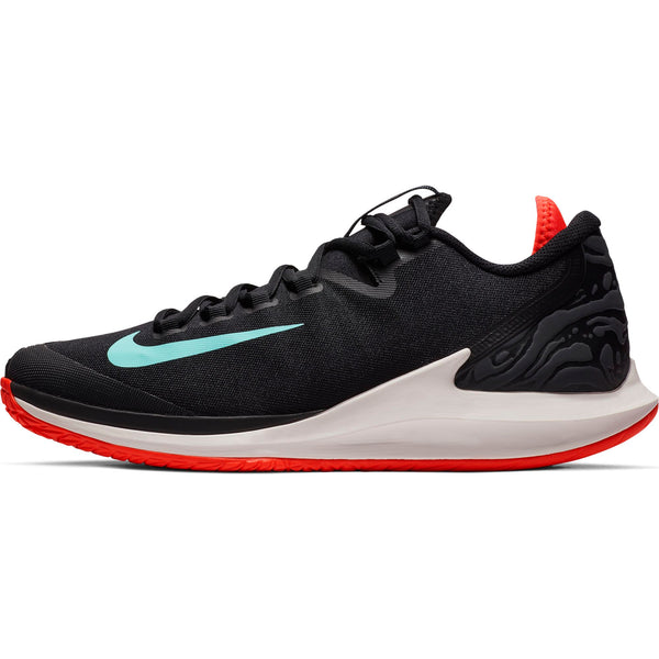 Nike Air Zoom Zero Men's Tennis Shoe (Black/Green/Red) - RacquetGuys