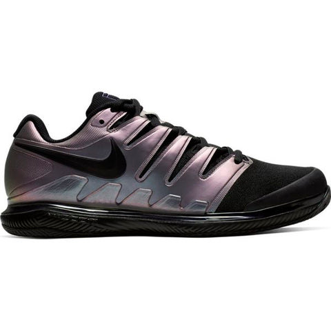 Nike Air Zoom Vapor X Men's Clay Court Tennis Shoe (Multi-Colour/Black/Purple) - RacquetGuys