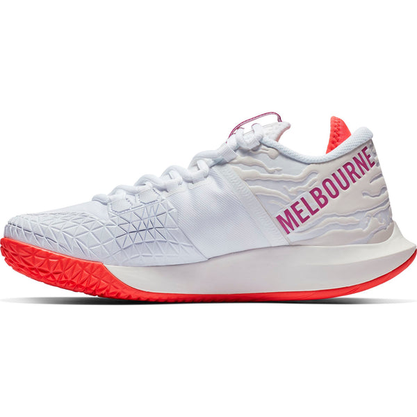 Nike Air Zoom Zero Women's Tennis Shoe (White/Fuchsia) - RacquetGuys