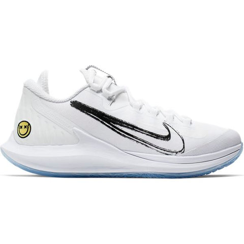 Nike Air Zoom Zero Women's Tennis Shoe (White/Light Blue) - RacquetGuys