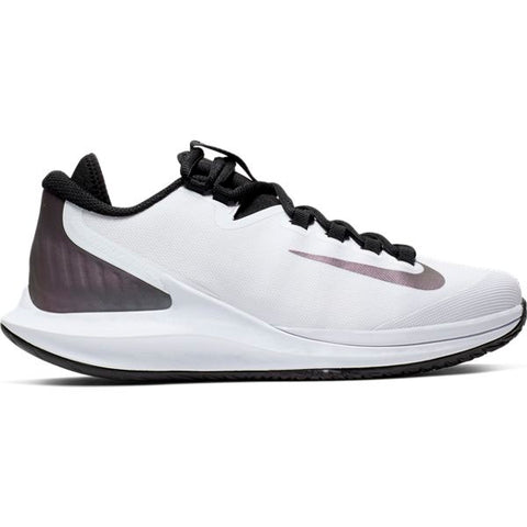 Nike Air Zoom Zero Women's Tennis Shoe (White/Black/Purple) - RacquetGuys
