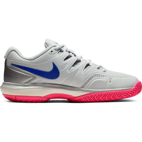 Nike Air Zoom Prestige Women's Tennis Shoe (Pure Platinum/Racer Blue) - RacquetGuys