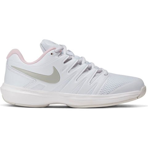 Nike Air Zoom Prestige Women's Tennis Shoe (White/Pink) - RacquetGuys
