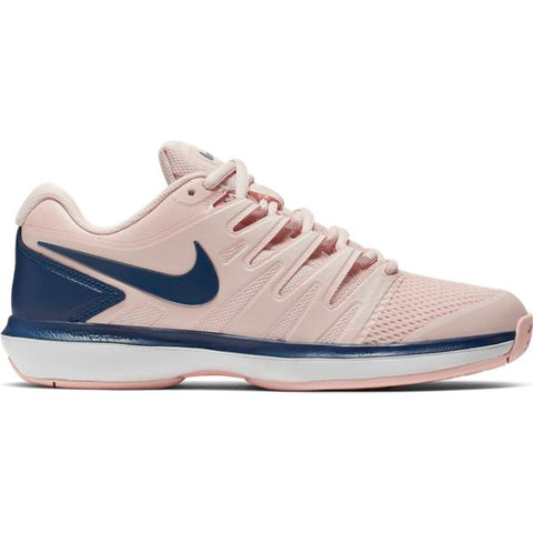 Nike Air Zoom Prestige Women's Tennis Shoe (Echo Pink/Costal Blue) - RacquetGuys