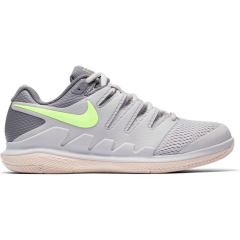 Nike Air Zoom Vapor X Women's Tennis Shoe (Grey/Guava/Gunsmoke)