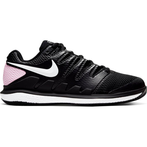 Nike Air Zoom Vapor X Women's Tennis Shoe (Black/White/Pink) - RacquetGuys