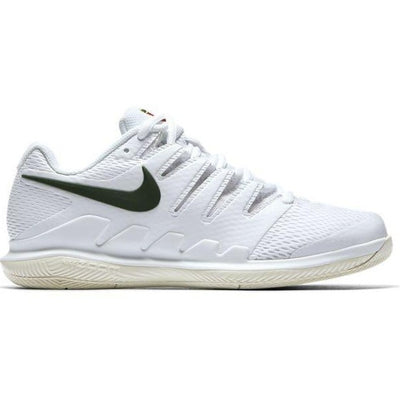 Nike Air Zoom Vapor X Women's Tennis Shoe (White/Green/Cream)