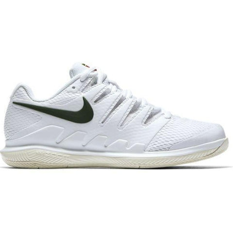 Nike Air Zoom Vapor X Women's Tennis Shoe (White/Green/Cream) - RacquetGuys.ca